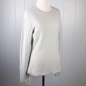 Brooks Bros Extra-Fine Italian Merino Wool Sweater
